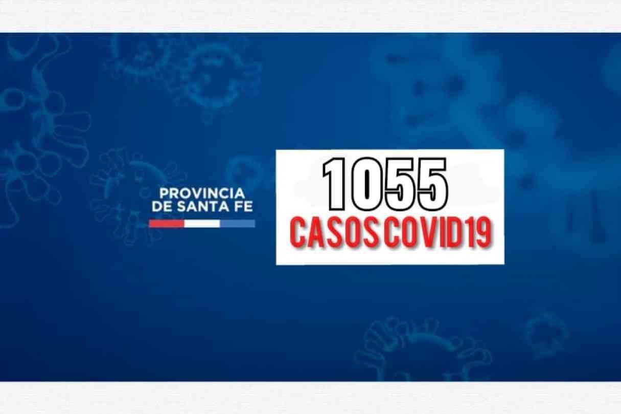Hoy se reportan 1055 casos nuevos de Covid19 en Santa Fe