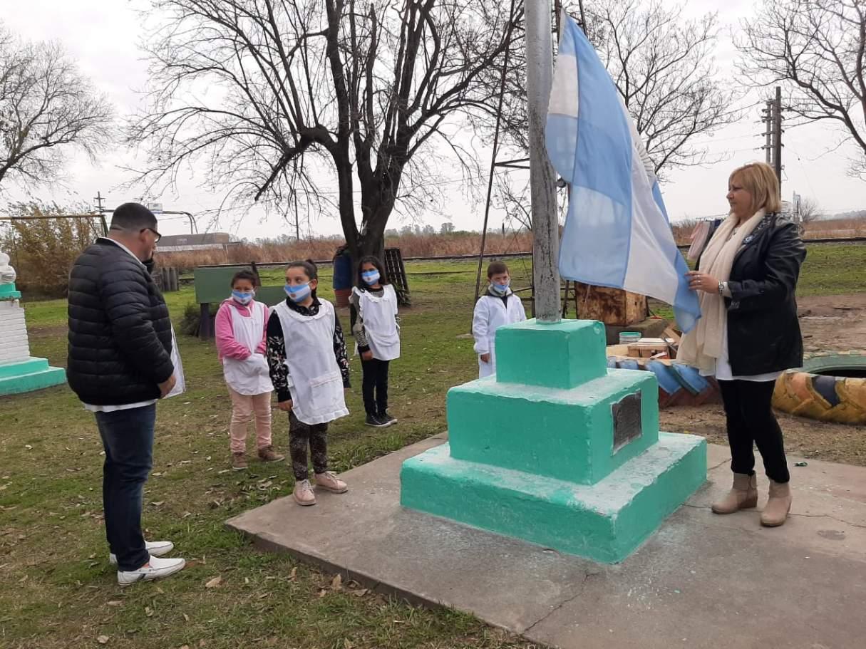Colecta solidaria para una escuela rural del departamento San Lorenzo