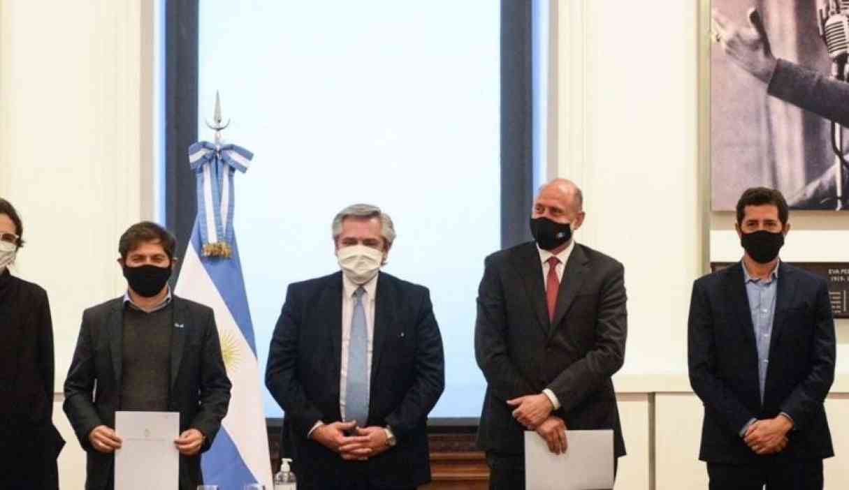 El presidente Alberto Fernández llega a la región acompañado de 7 gobernadores