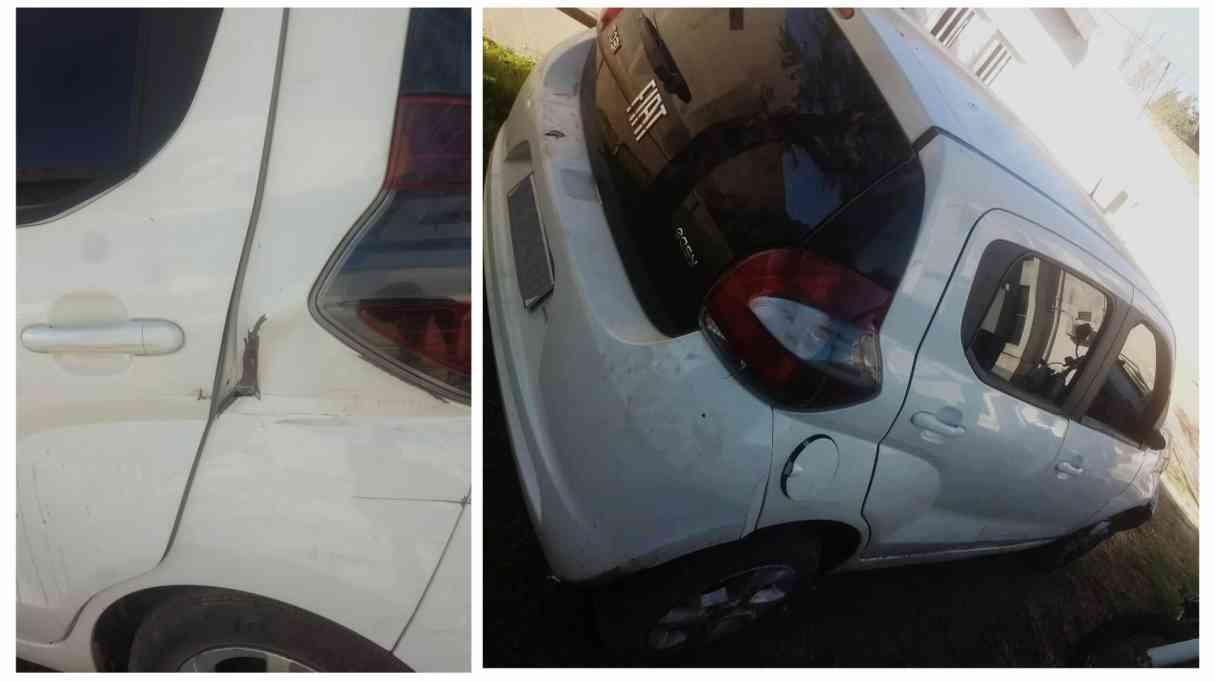 Investigan el origen de un auto abandonado en Bermúdez