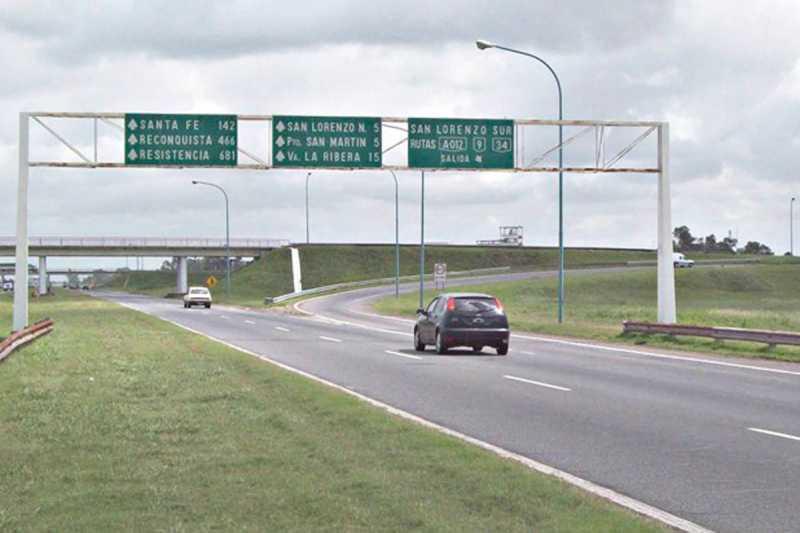 Traferri insistió a la provincia en realizar obras en los accesos a autopista en la ciudad de San Lorenzo