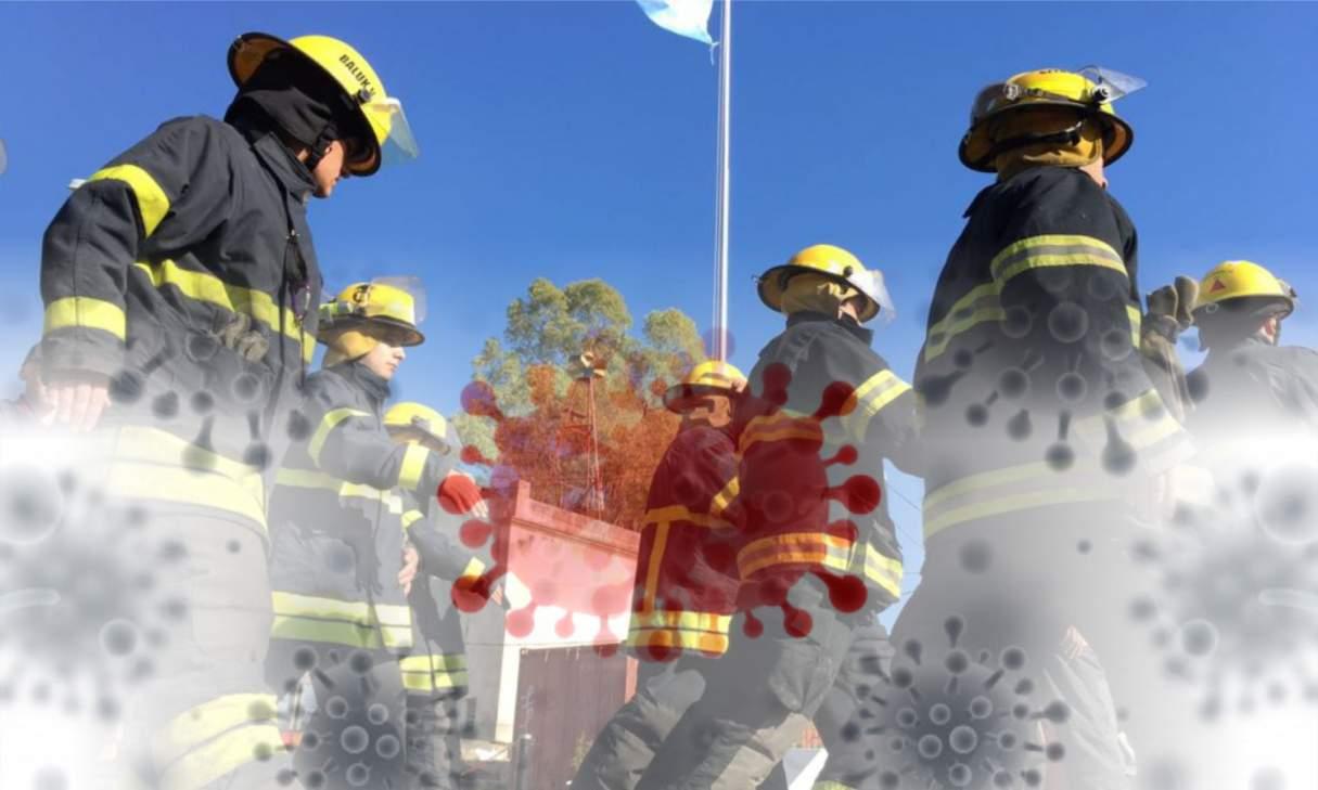 Tres casos de COVID-19 en los Bomberos Voluntarios de Capitán Bermúdez