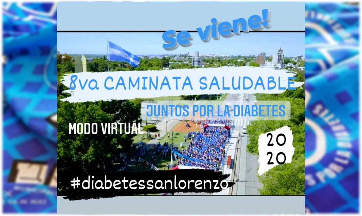 San Lorenzo: Caminata Saludable por la Diabetes de forma virtual