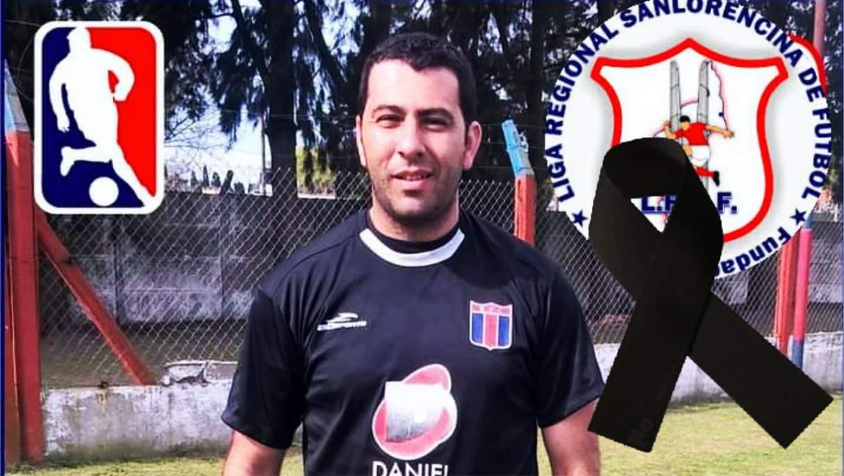 Arquero de liga San Lorencina fue hallado muerto en la calle