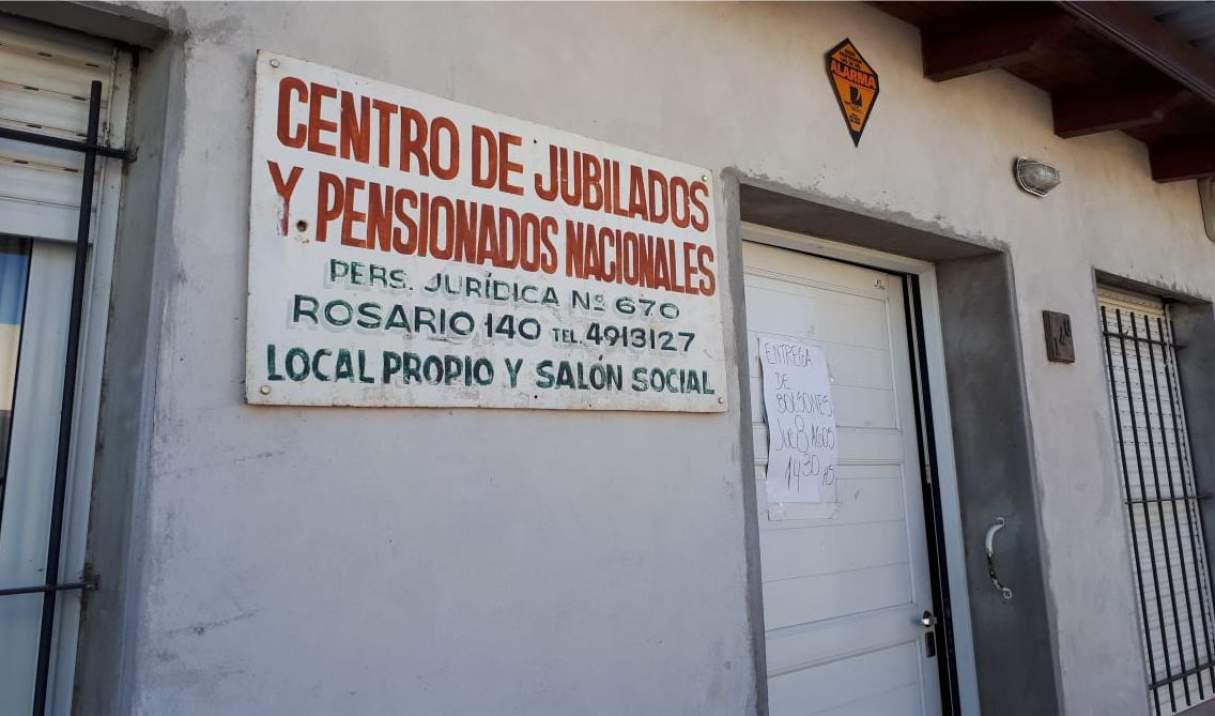 Bermúdez: Un centro de Jubilados realizará sorteos para quienes tengan la cuota al día