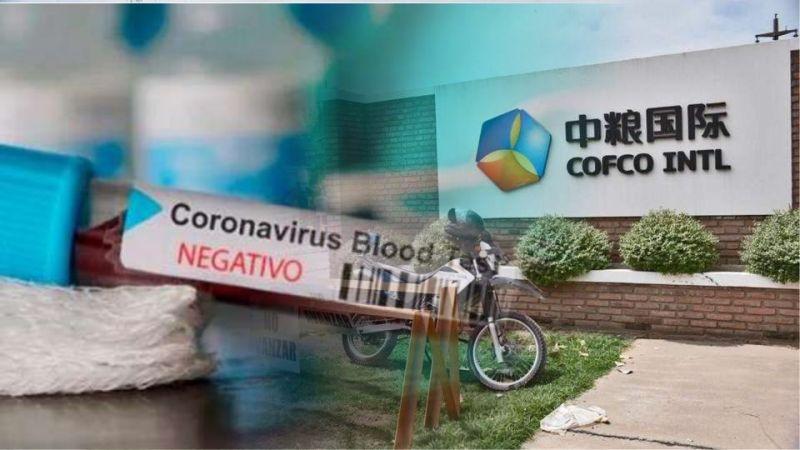 Timbúes: el tercer hisopado a trabajadores de Cofco dio Negativo