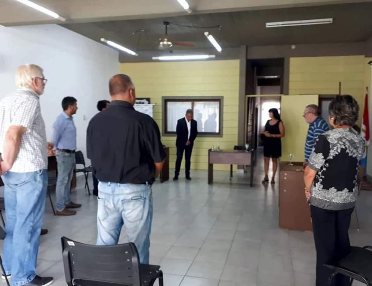 El Concejo Municipal de Capitán Bermúdez ratificó a sus autoridades