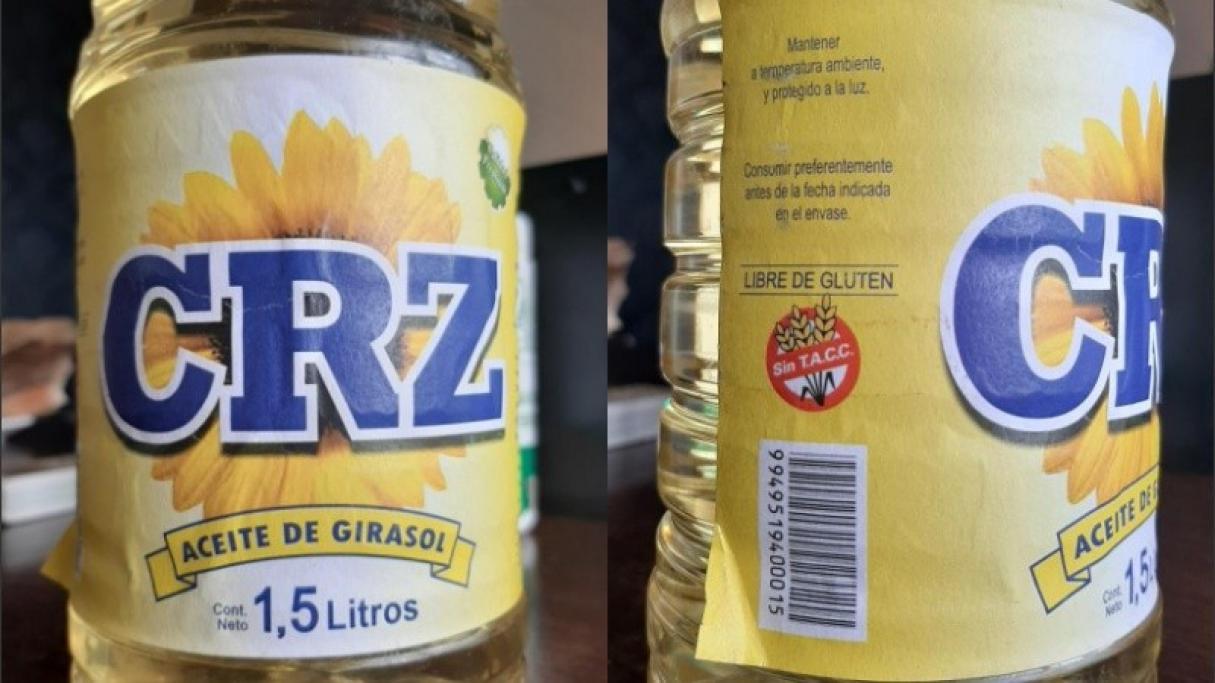 ANMAT prohibió la venta de un aceite de girasol Santafesino