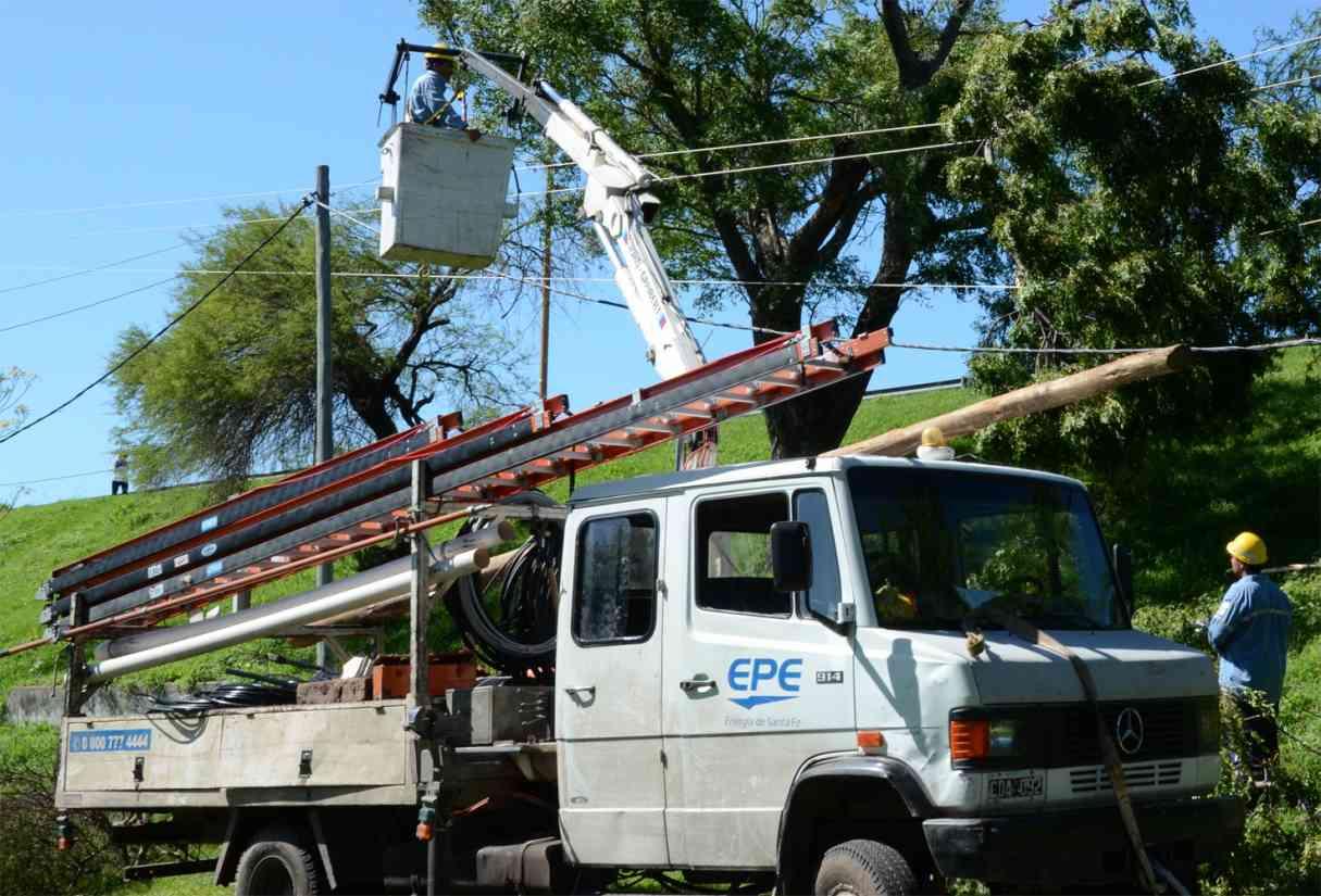 Anunciaron cortes de luz programados este sábado en sectores del Cordón Industrial