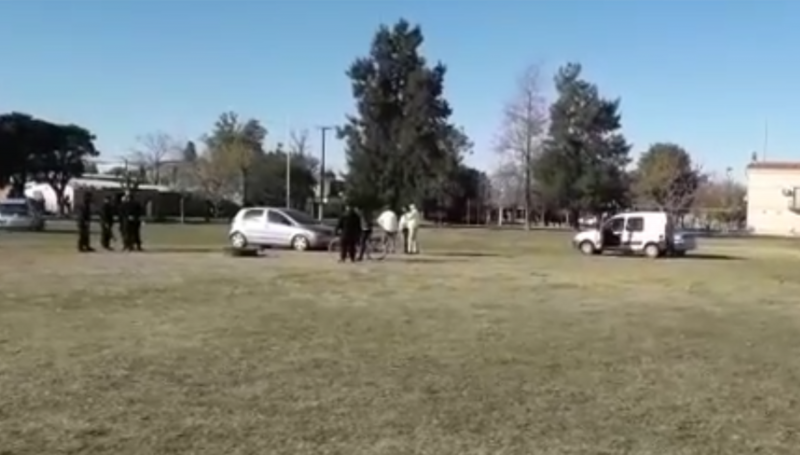 Bermúdez: Realizaron un torneo de futbol ilegal con mas de 100 personas