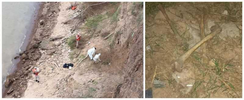 Investigan si los restos óseos podrían ser de la desaparecida Paula Perassi