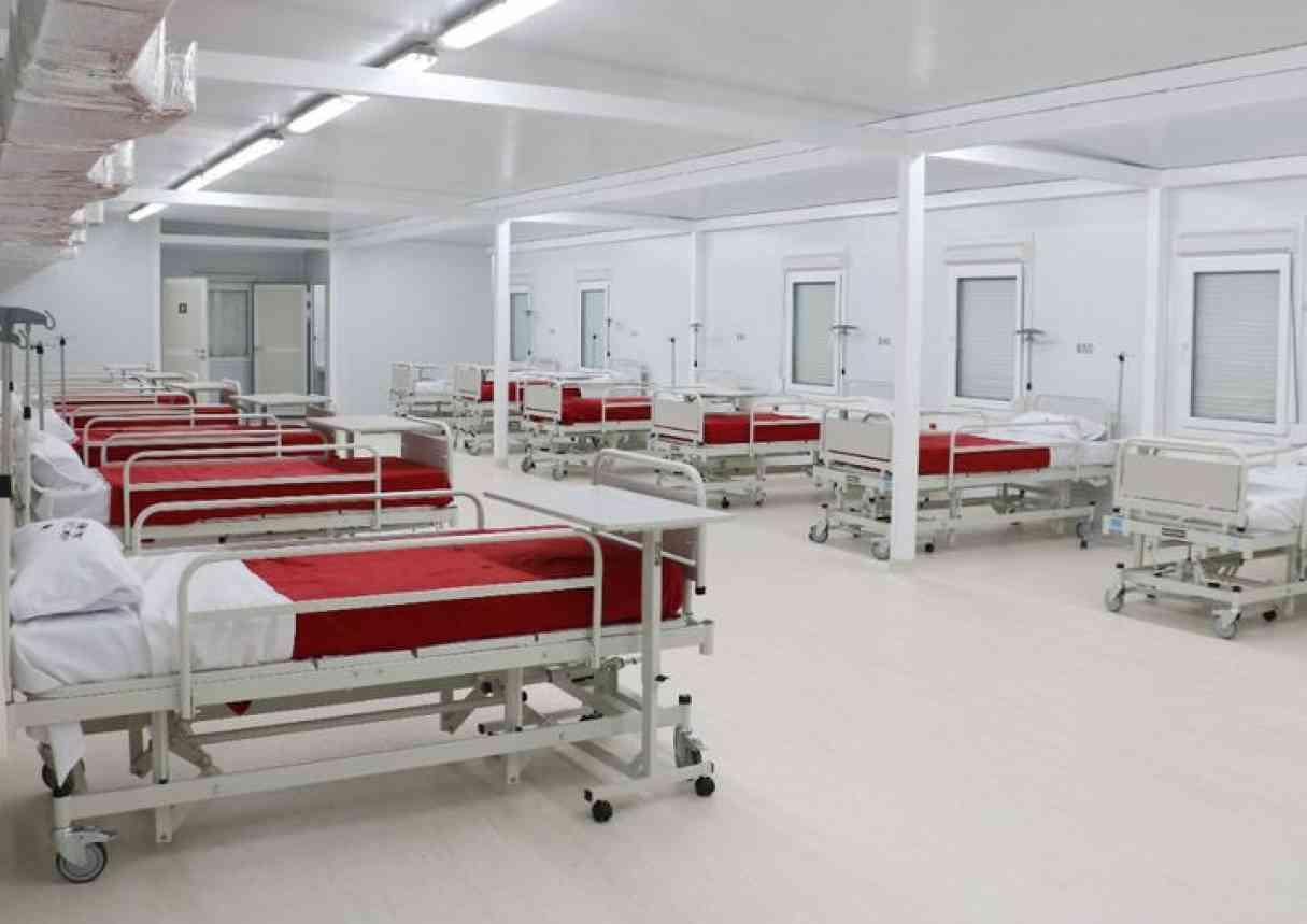 Covid-19: Habilitaron 19 nuevas camas en el Hospital Modular de Granadero Baigorria