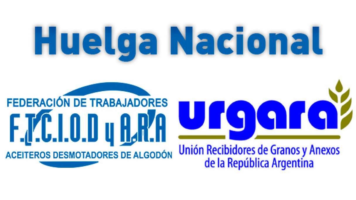 Urgara y Aceiteros lanzaron una huelga nacional