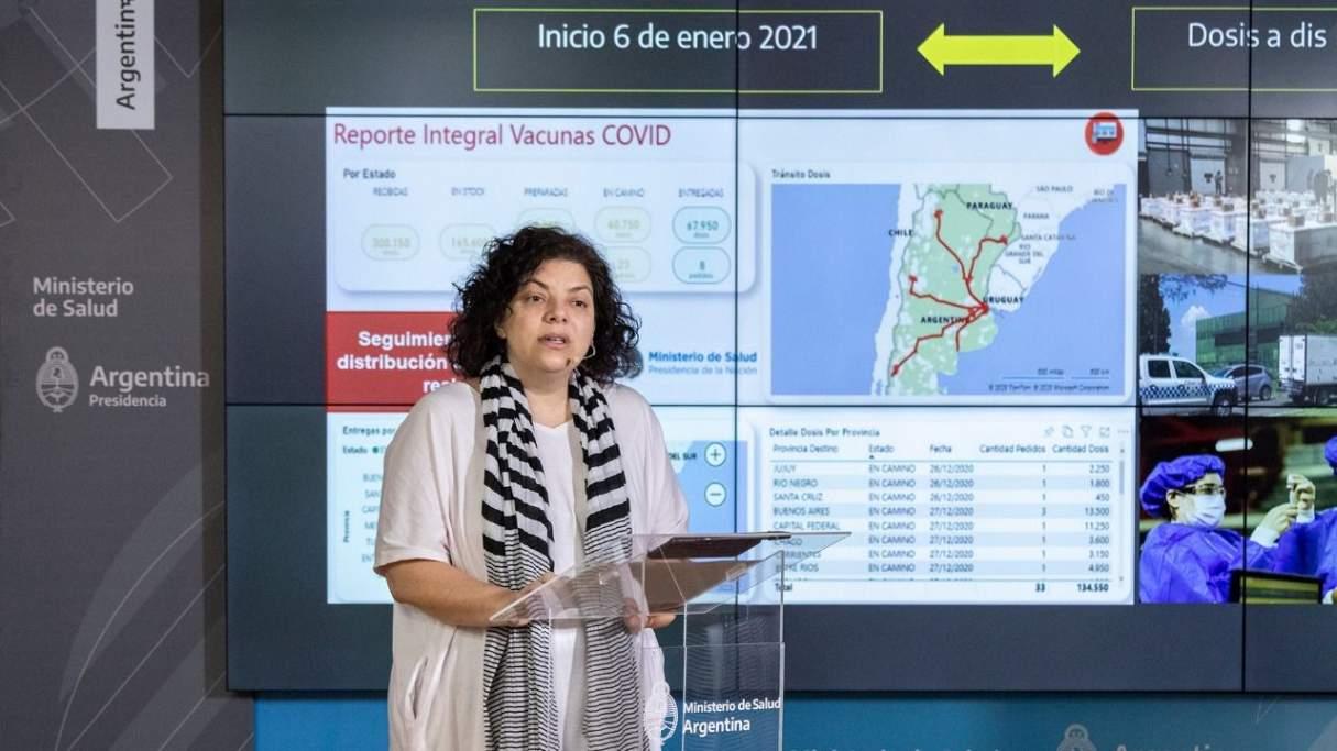 Comienza la segunda etapa de distribución de vacunas contra COVID-19 para el personal de salud