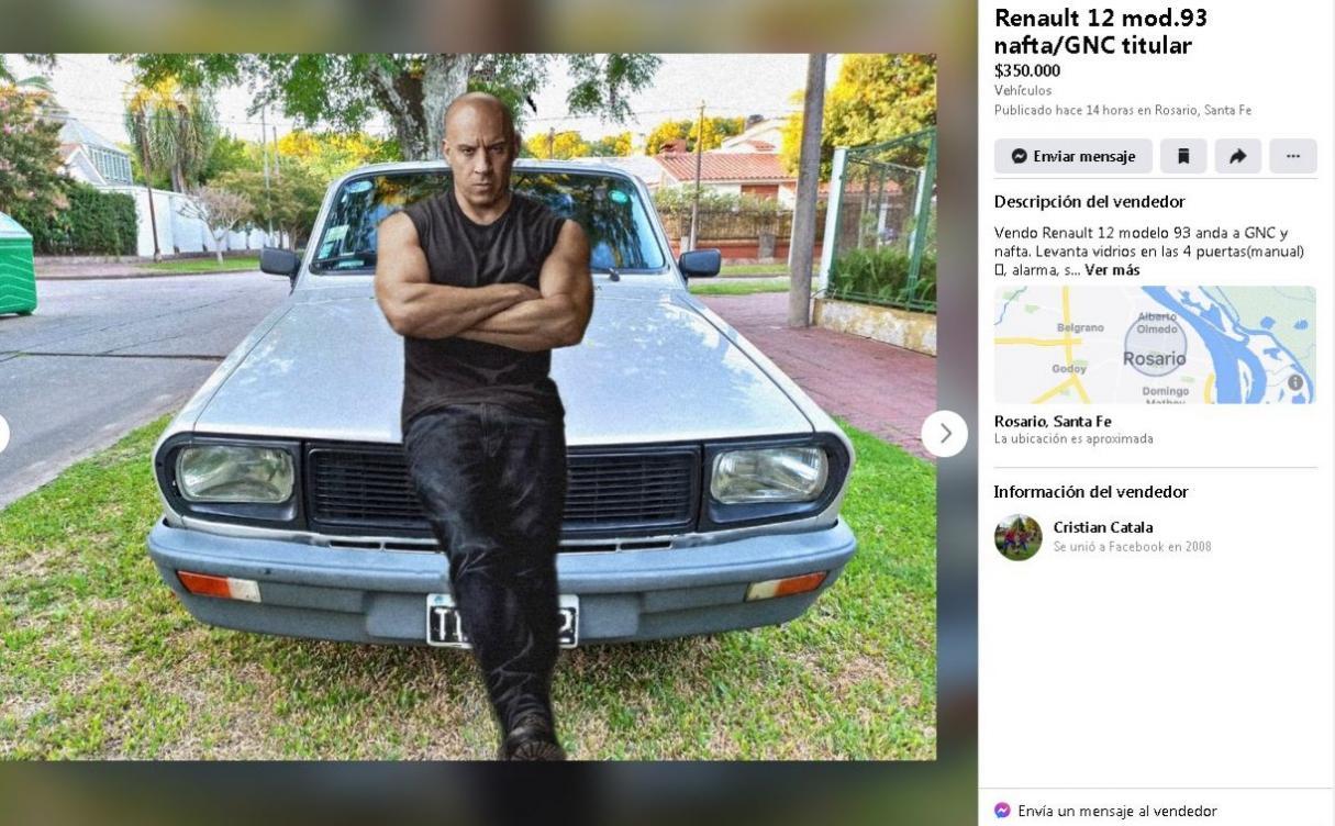 Viral: ofrece un Renault 12 a 350 mil pesos y recibió cientos de comentarios imperdibles