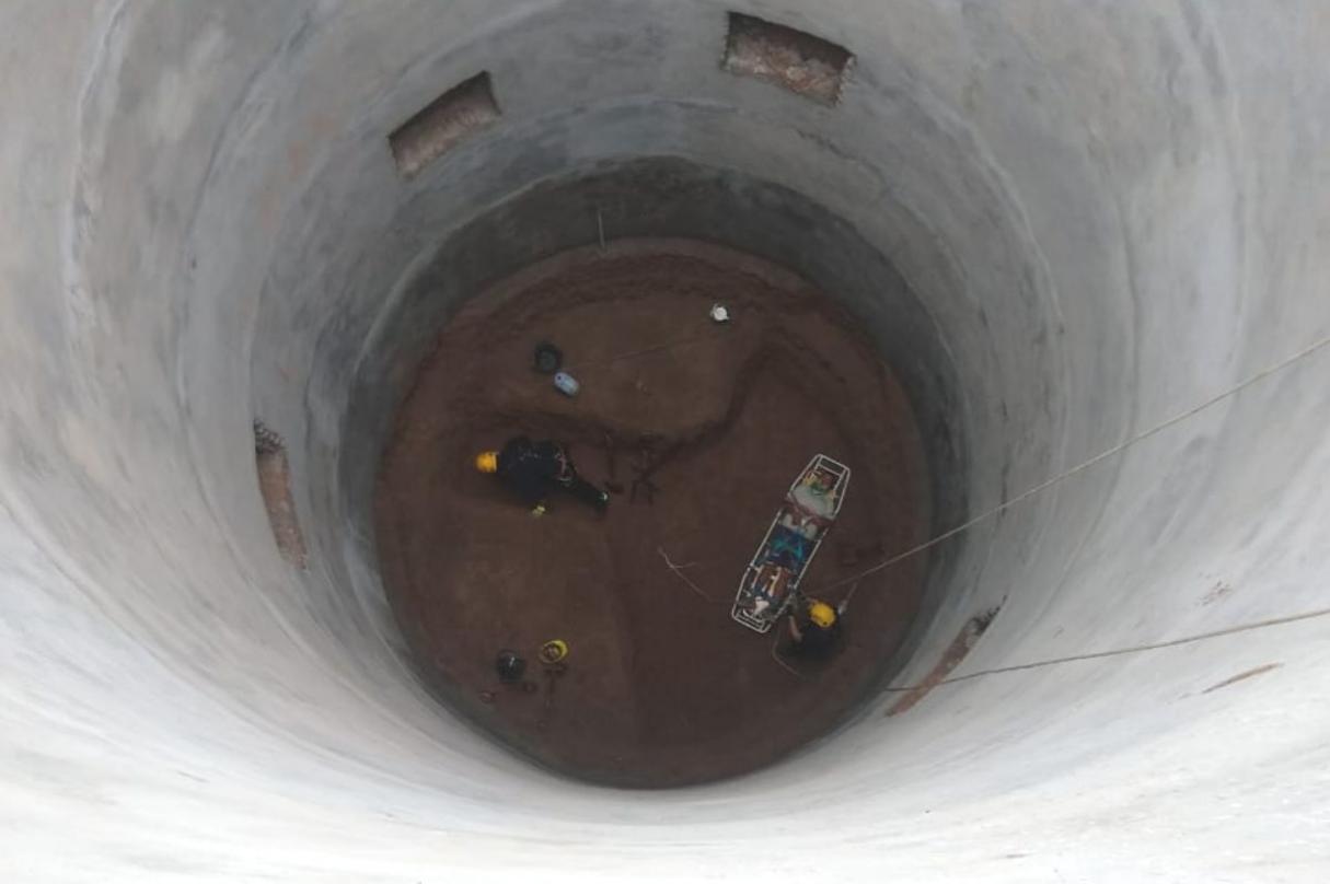 Puerto San Martín: un obrero cayó a un silo de 15 metros de profundidad