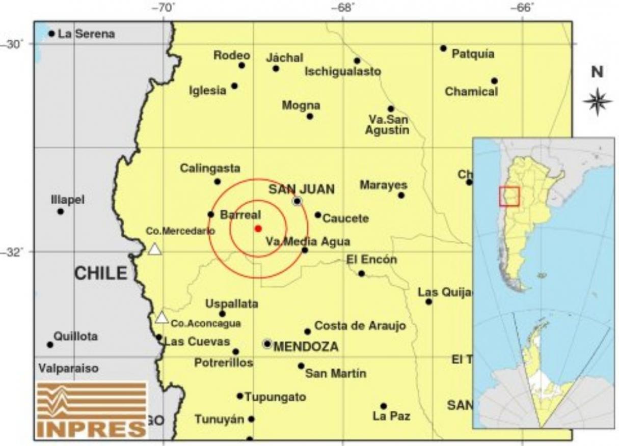 Ahora: nuevo y fuerte sismo en San Juan