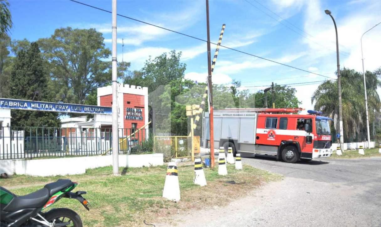 El incendio en polvorines de Fabrica Militar está controlado