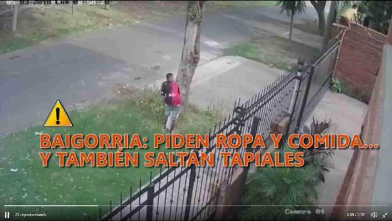 Alertan a vecinos de la región por ladrones que saltan tapiales