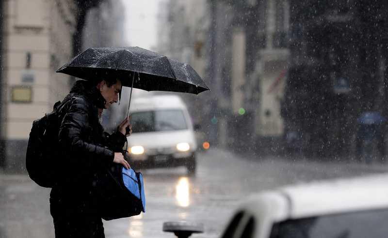 Alerta meteorológico por tormentas fuertes para la región