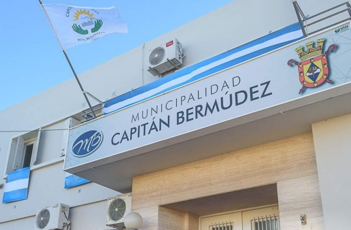 Capitán Bermúdez: intentaron robar en el edificio Municipal