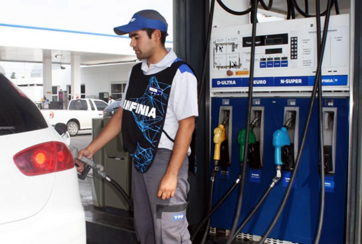 Rige nuevo aumento del 3,5% en la nafta