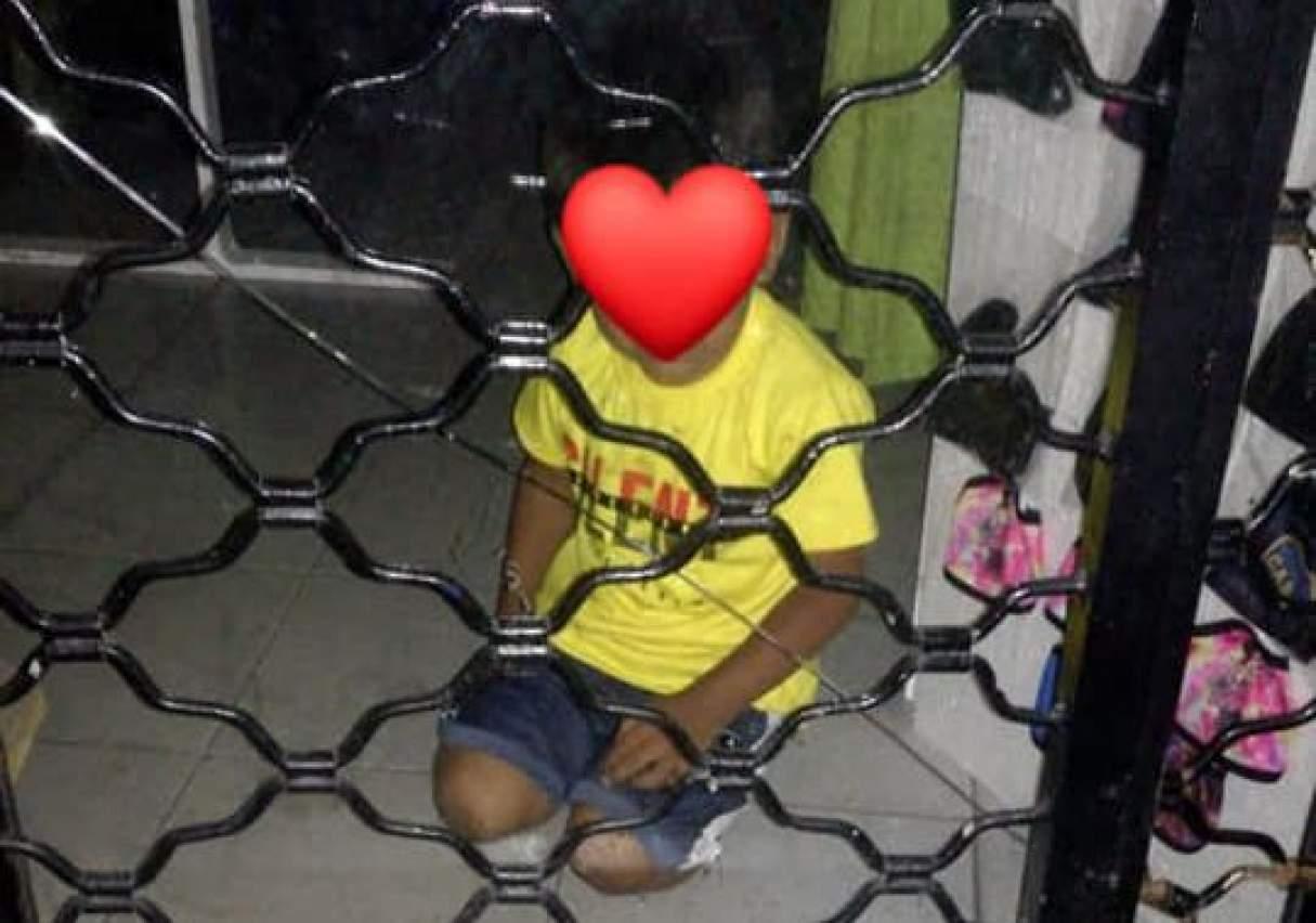 Bermúdez: Un niño de 3 años pasó la navidad encerrado solo en un local comercial