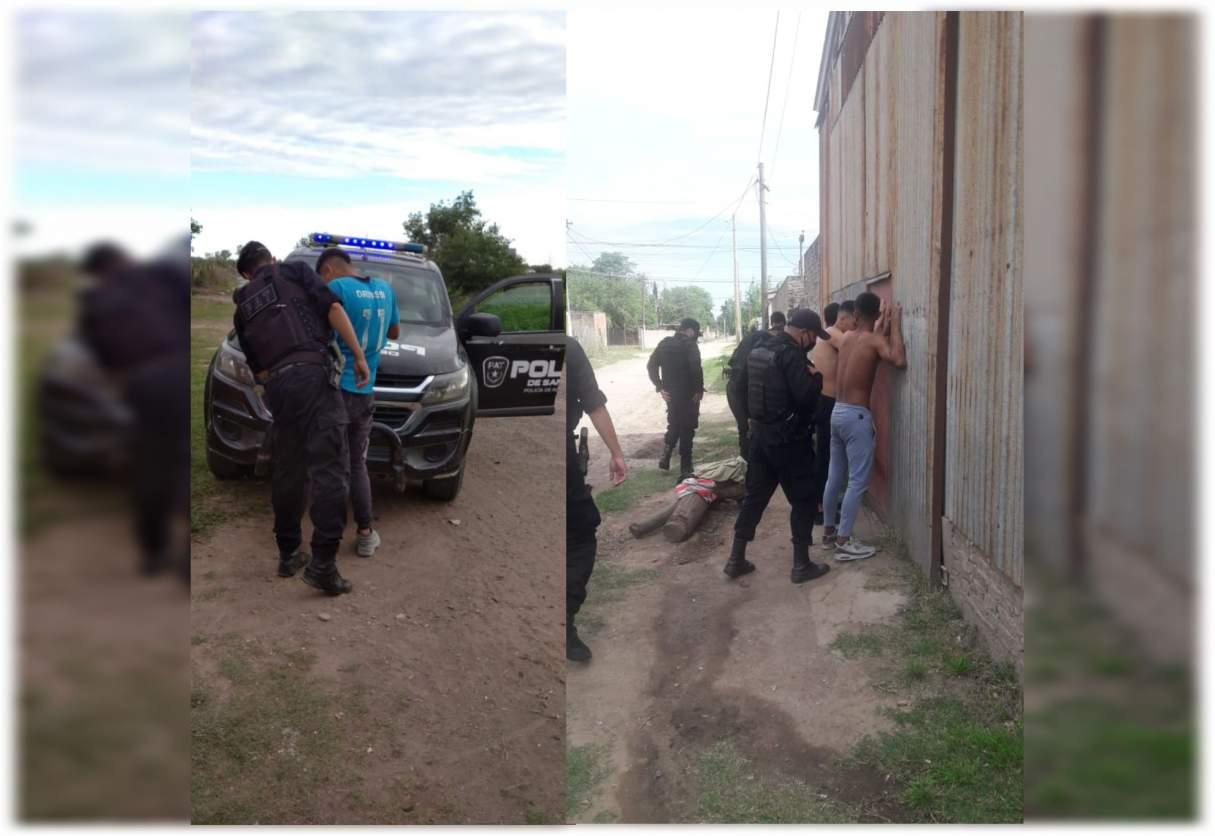 Se realizaron operativos saturación en San Lorenzo y Capitán Bermúdez