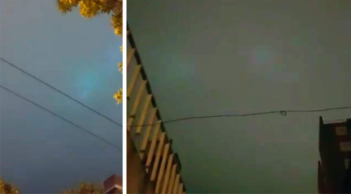 Ovnis: Extrañas luces aparecieron en el cielo de Rosario luego de la tormenta