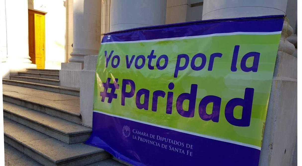 La Paridad de Género ya es Ley en la provincia de Santa Fe