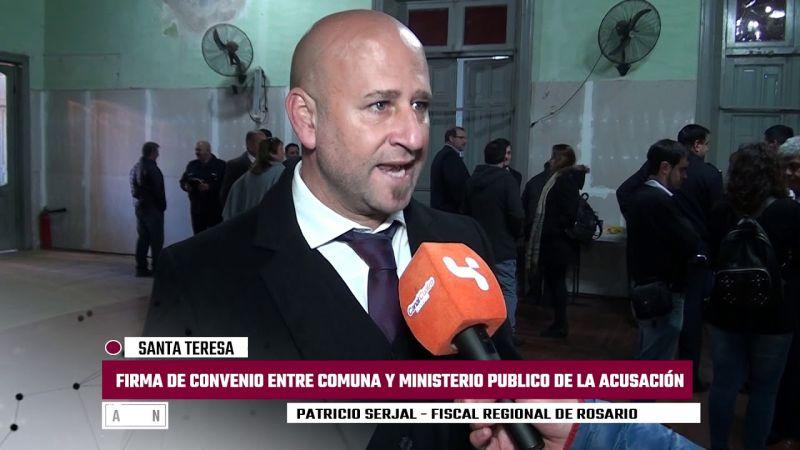 Renunció el fiscal regional de Rosario Patricio Serjal