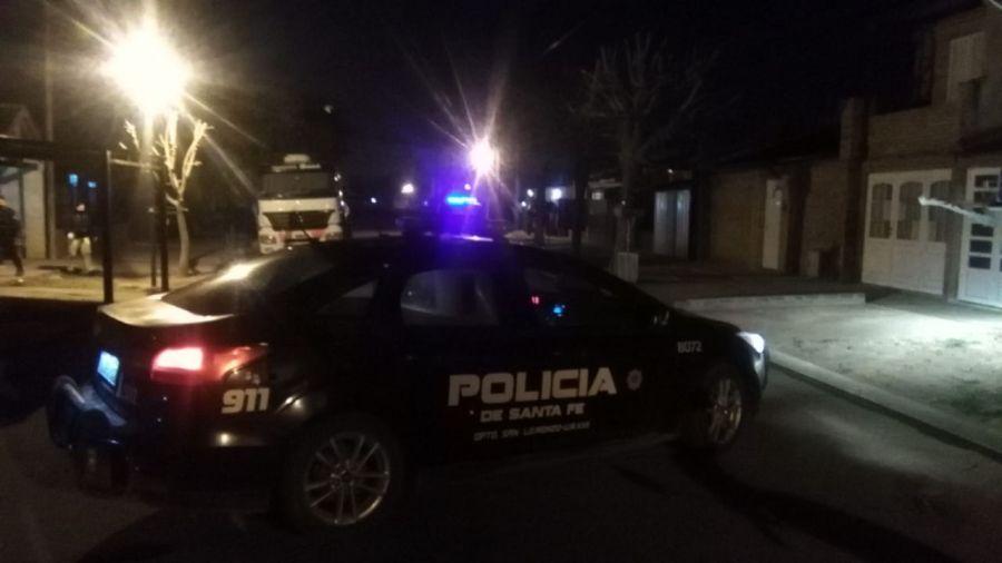 Beltrán: le metieron 9 tiros a la casa de un policía