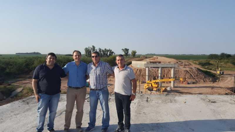 Avanza a buen ritmo la construcción del Puente S26 sobre Río Carcarañá incluido en la Ley de Endeudamiento