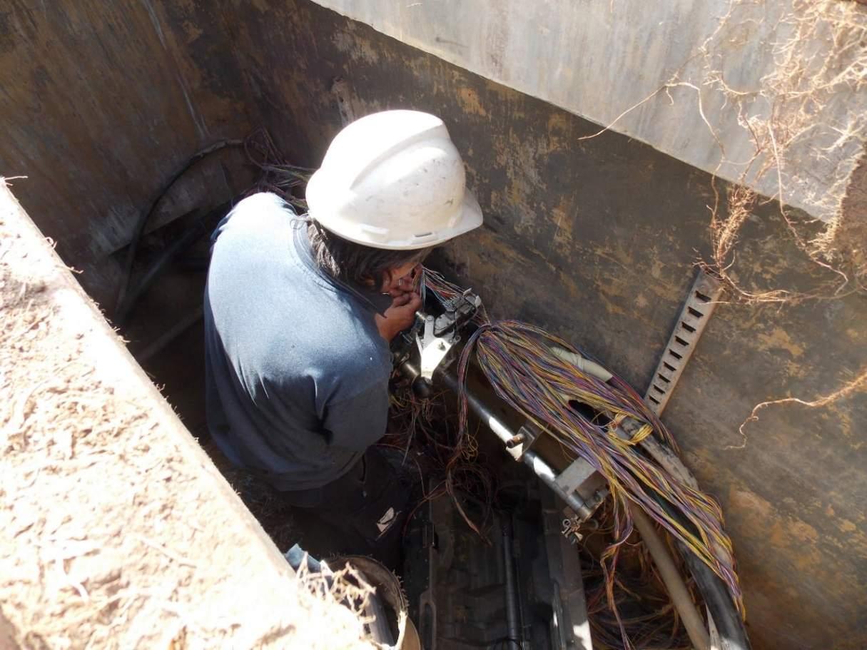 Nuevamente robaron cables de la Cooperativa Telefónica en Bermúdez: 160 afectados