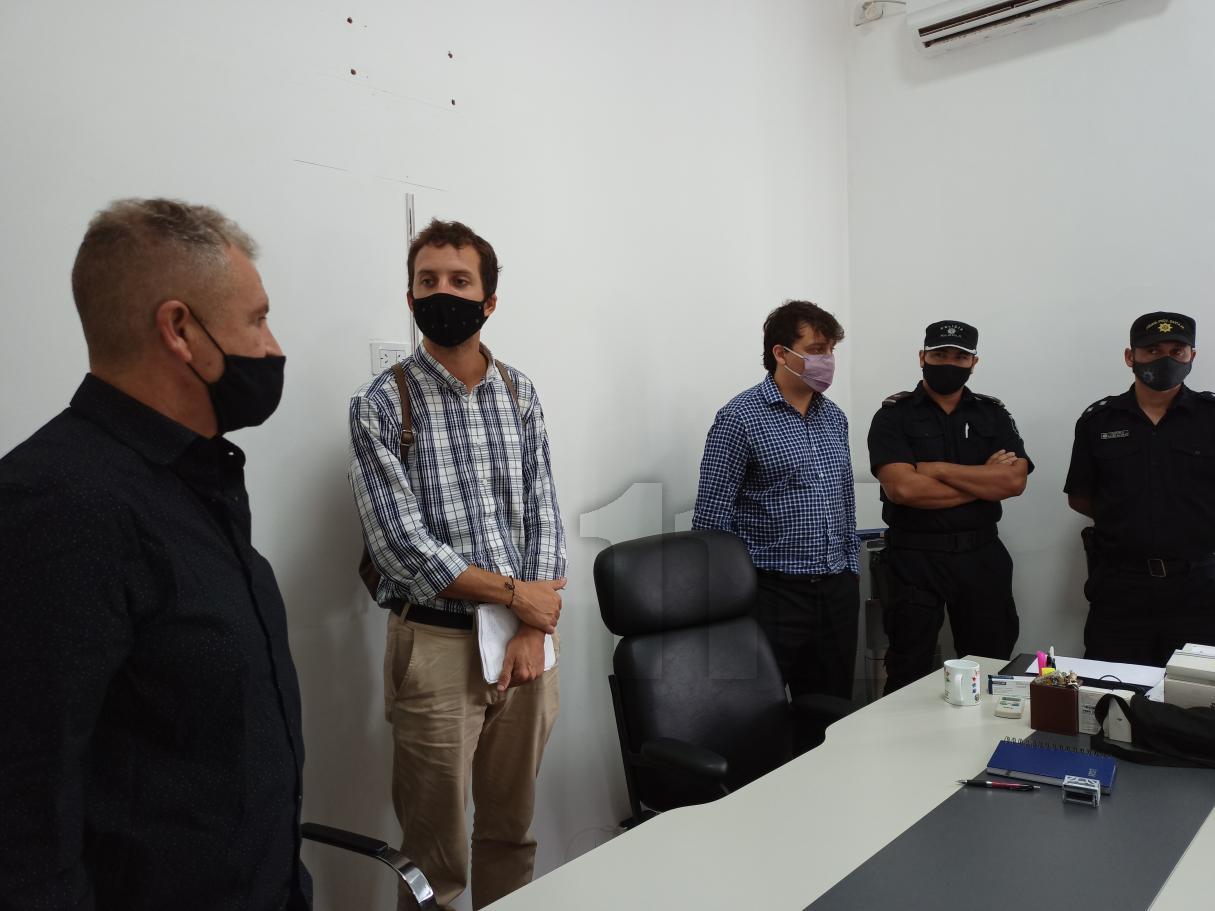 Bermúdez: los vecinos fueron recibidos por autoridades tras reclamo por seguridad