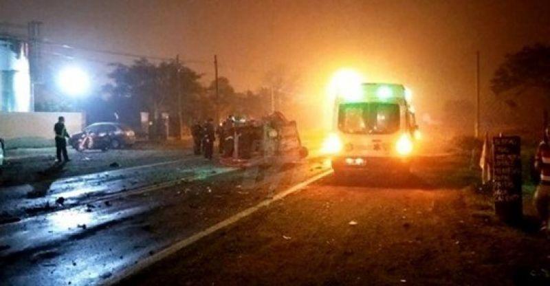 Ruta 11: Dos muertos en accidente en Sauce Viejo