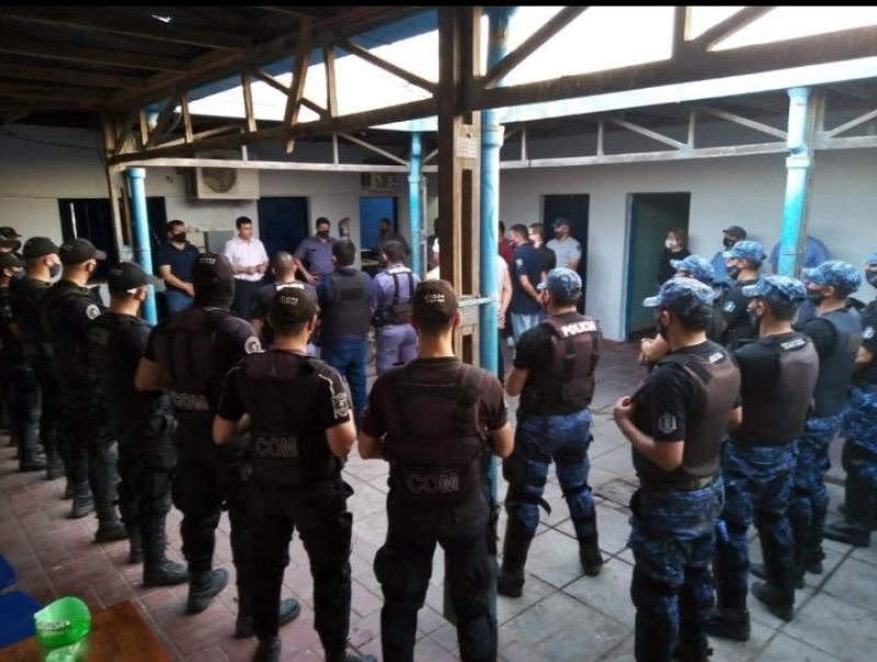 Santa Sylvina: 9 detenidos por linchar a un policía VIDEO