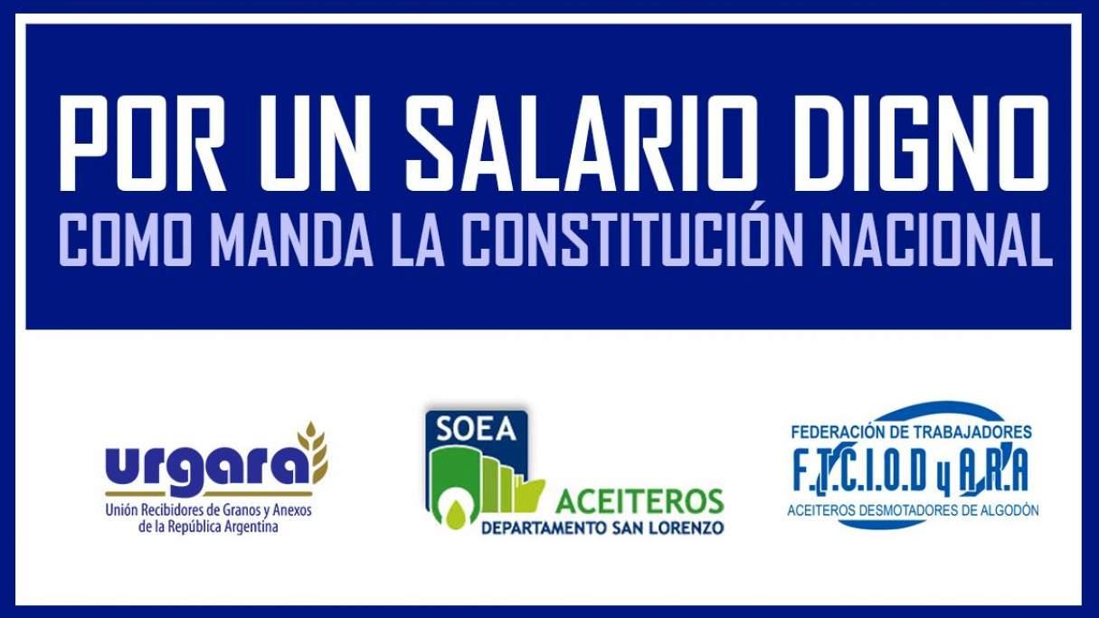 El Soea, Federación Aceitera y Urgara se unen en una huelga conjunta, pero nada dicen de zanjar diferencias