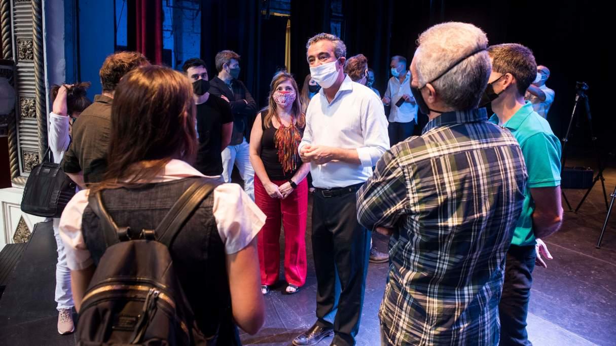 Rosario presentó el protocolo para la reapertura del Teatro La Comedia