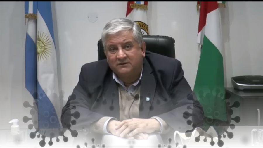 Amaro González: No hay Covid19 en Timbúes