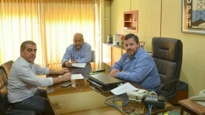 Traferri y gremios, preocupados por la Refinería San Lorenzo