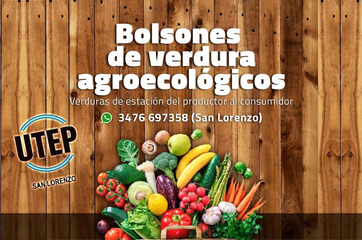 UTEP San Lorenzo, el mercado agroecológico, artesanal y cooperativo