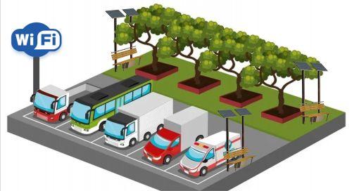 Autopista y concesiones viales con áreas de descansos 2.0
