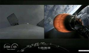 Lanzaron al espacio el satélite argentino SAOCOM 1B